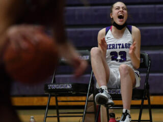 Girls basketball: Heritage knocks off Prairie for first time in school history