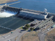 Ice Harbor Dam on the lower Snake River. Dam breaching on the lower Snake River to recover salmon and steelhead runs in the Columbia basin has been a divisive issue for the last 30 years, pitting farming, power, and transportation interests against fisheries and conservation interests.