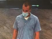 A suspect in a robbery Thursday at a Columbia Credit Union branch, 3003 N.E. 62nd Ave., is described as a white male in his mid- to late-20s, with a thin build and short strawberry blond hair. He was last seen wearing a light blue polo shirt and light-colored denim jeans.
