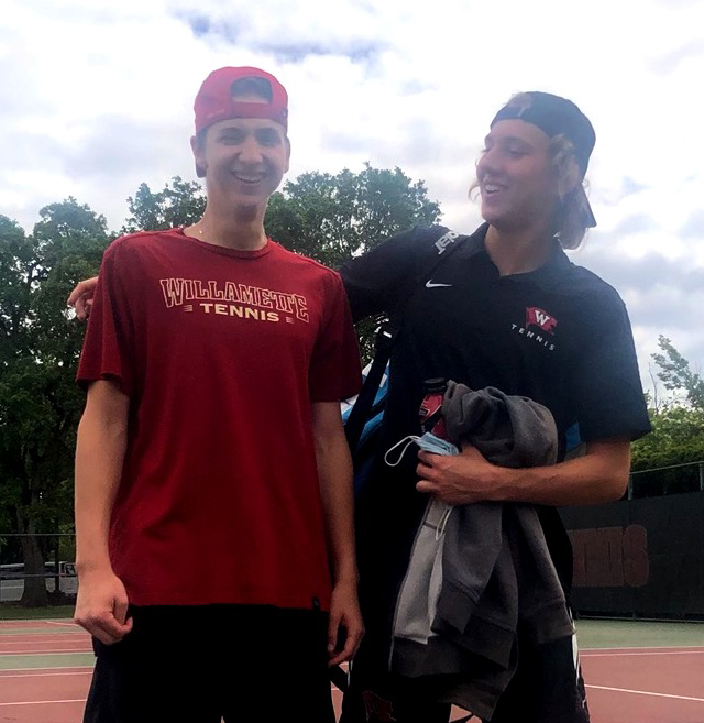 College notebook: Former Skyview tennis teammates play as foes on college courts