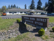 The Washougal School District administrative offices.