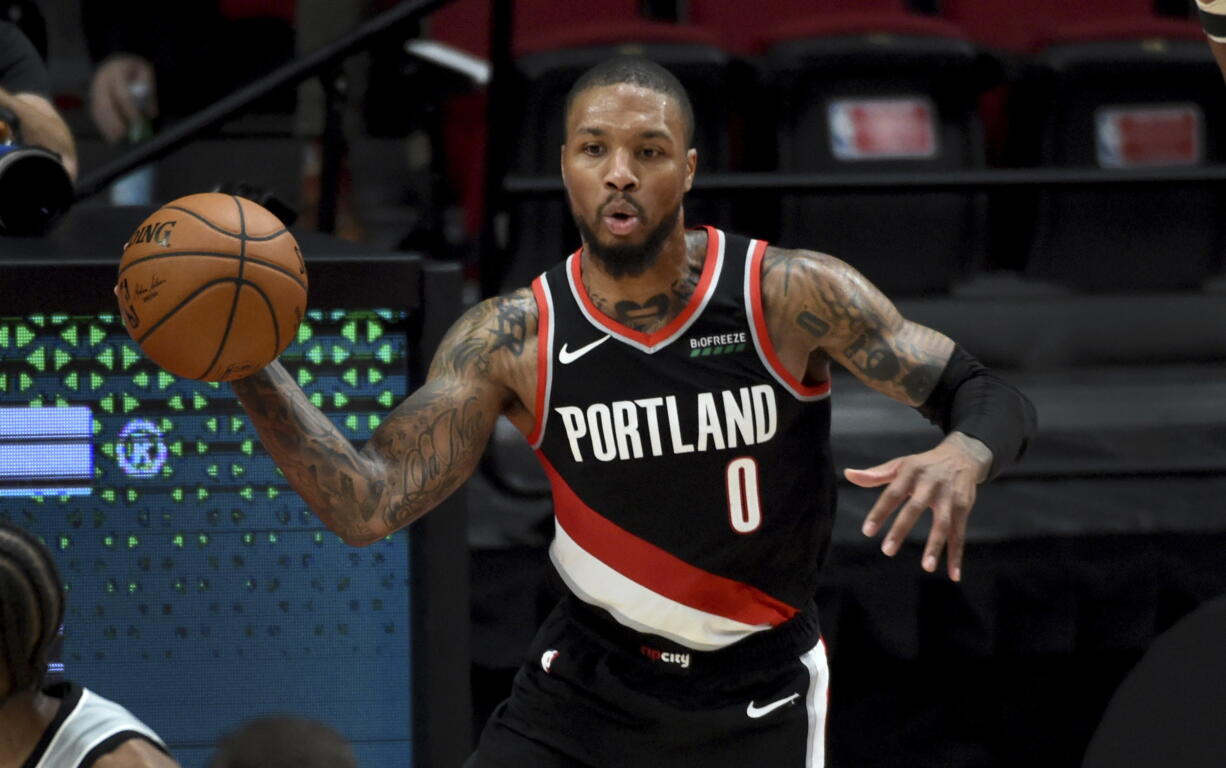 For the fourth season in a row Portland Trail Blazers guard Damian Lillard was named to the All-NBA Team, it was announced Tuesday, June 15, 2021. This is the third time in as many years he earned Second Team honors.