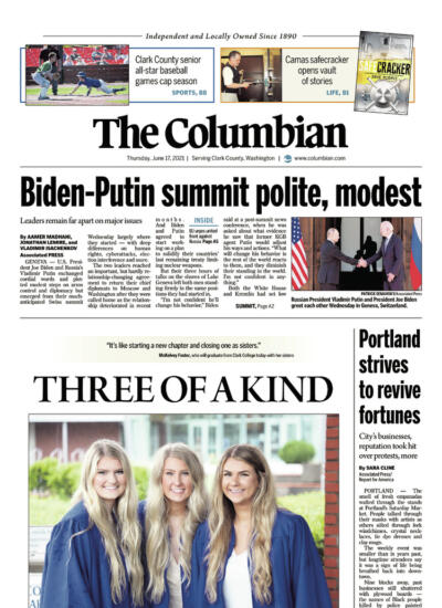 preview of today's front page