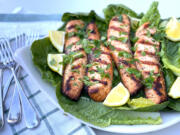 Mayo Grilled Salmon (Katherine Martinelli/The Daily Meal)