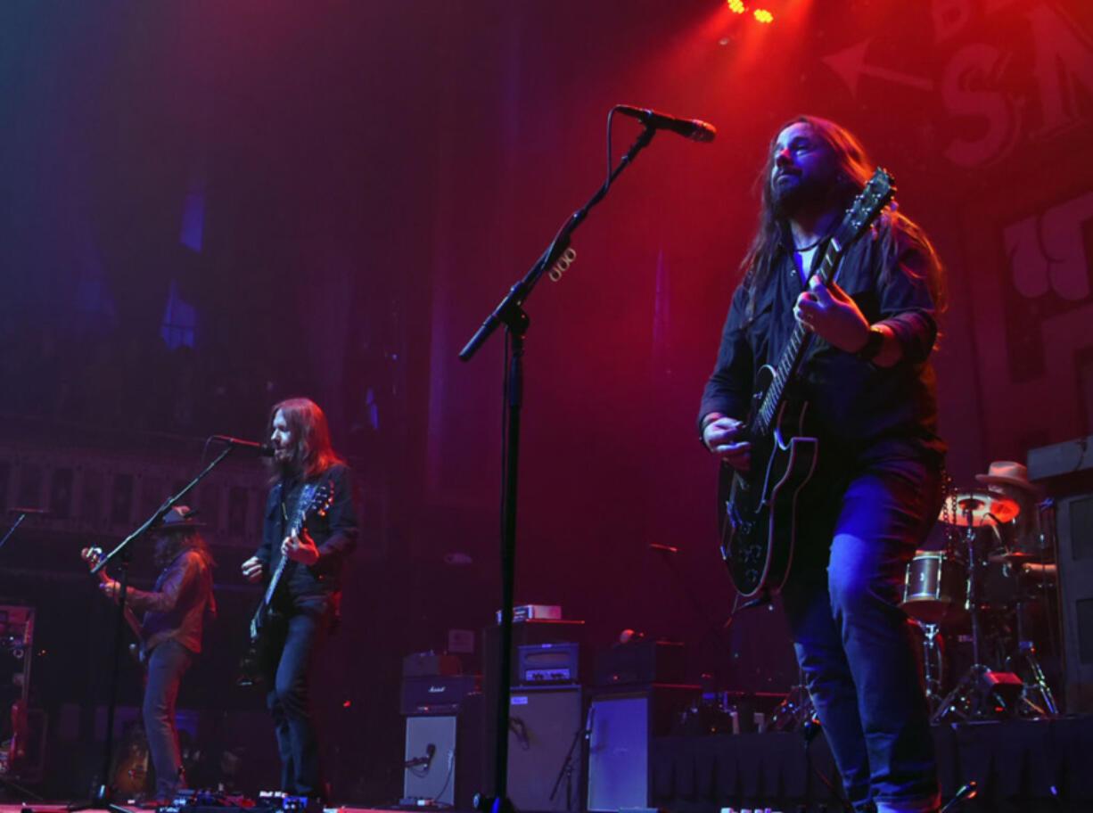 Blackberry Smoke perform at The Tabernacle in 2017 in Atlanta.