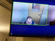 Zachery Hansen appears via Zoom Friday in Clark County Superior Court to face new allegations of attempted murder as part of an existing domestic violence-related case. Judge Emily Sheldrick set Hansen's bail at $1 million.