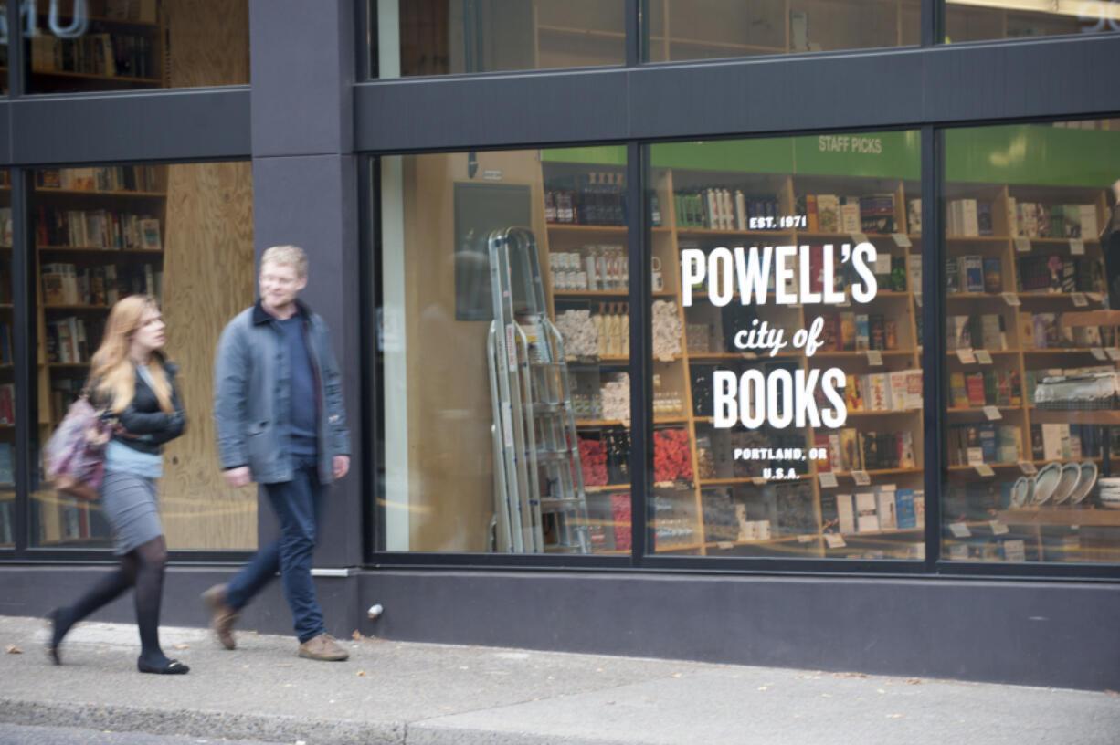 Powell's Books in Portland.