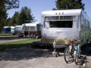 The Vintages Trailer Resort, an RV park in the middle of wine country in Dayton, Ore.