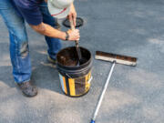 Driveway repair is a great job to complete before summer gets underway.