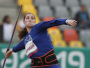 Kara Winger won the gold medal in the women's javelin at the 2019 Pan American Games in Lima, Peru. Starting Friday, June 25, 2021, the Skyview High grad will begin qualifications in Eugene, Ore., for a fourth Olympic Games.