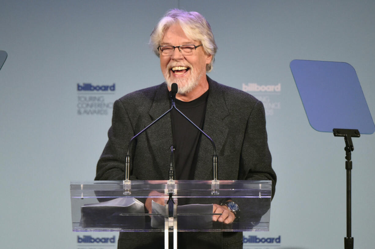 Musician Bob Seger speaks onstage during the 2015 Billboard Touring Awards at The Roosevelt Hotel on Nov. 19, 2015, in New York City.