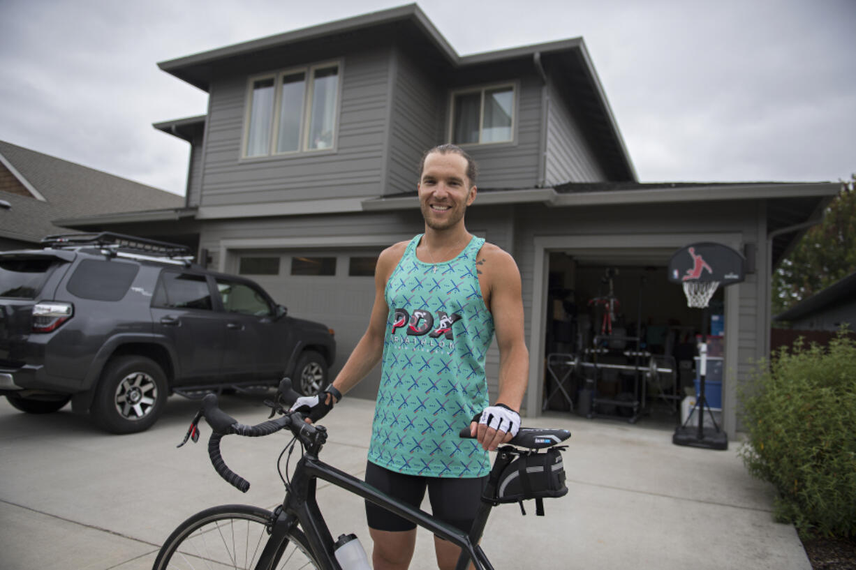 Vancouver triathlete Joshua Monda qualified for the Ironman World Championships by enduring triple-digit heat at the Ironman Coeur d'Alene on Saturday in Idaho.
