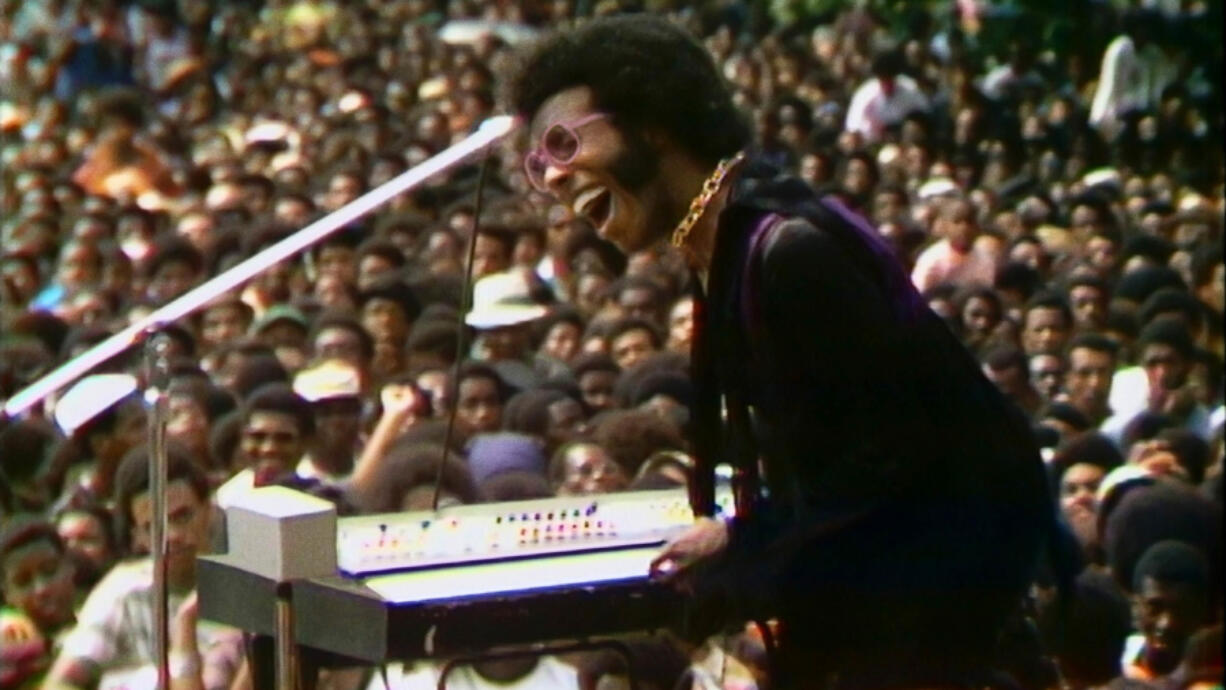 """Musician Sly Stone is featured in """"Summer of Soul (...Or, When the Revolution Could Not Be Televised),"""" the directorial debut of Ahmir """"Questlove"""" Thompson."""