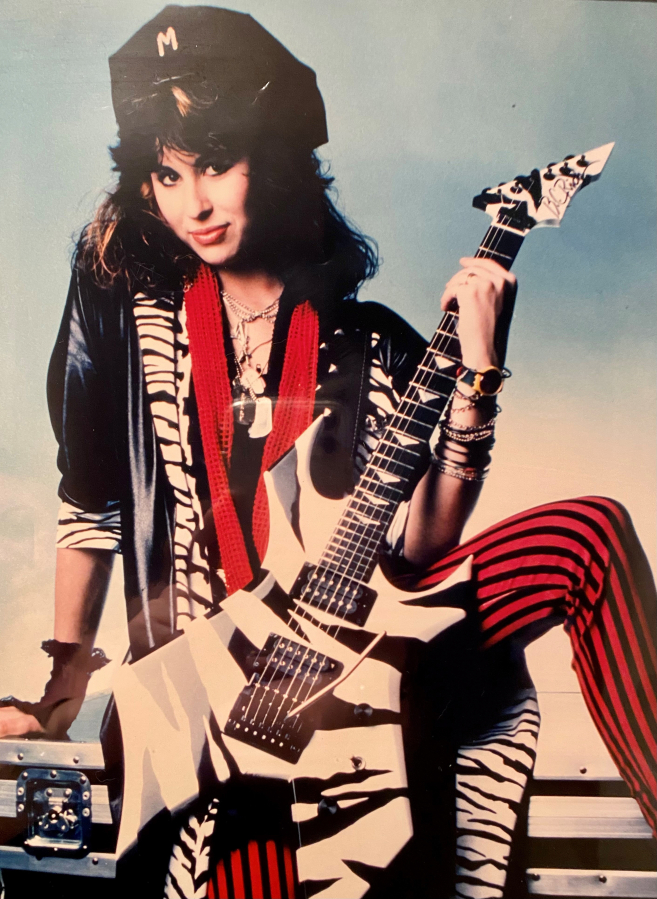Mara Fox of Vancouver was guitarist for Precious Metal, a band founded in 1984 that broke up in 1992. (Contributed by B.C.