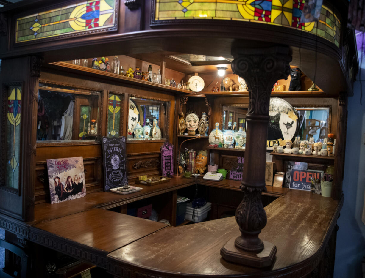The antique bar at Love Potion Magickal Perfumerie in downtown Vancouver is lined with various trinkets and bottles. Few of the store's loyal shoppers know that owner Mara Fox used to be a guitarist in the rock band Precious Metal, which was recognized by Rolling Stone magazine.