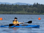 """""""It's the best investment I've ever made, as far as recreation goes,"""" Glenn Wright said of his kayak."""