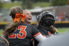 Battle Ground softball completes perfect year with win over Mountain View sports photo gallery