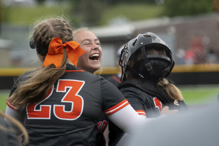 Battle Ground softball completes perfect year with win over Mountain View photo gallery