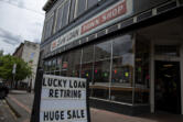 Amanda Cowan/The Columbian   Our Tuesday story about the closure of Lucky Loan is just one of the stories from our ePaper that our audio text service can read to you.