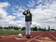 Katie Peneueta was a standout in basketball, volleyball and track and field in her four years at Heritage High School. She will play college basketball at Sacramento State.