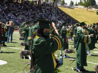 Evergreen High celebrates more than 400 graduates