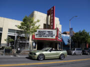The Kiggins Theatre is open again to moviegoers, but it and similar businesses are counting on federal relief funds to help pay their bills.