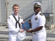 Information Systems Technician (Submarines) 2nd Class Isaac Ivendiemer