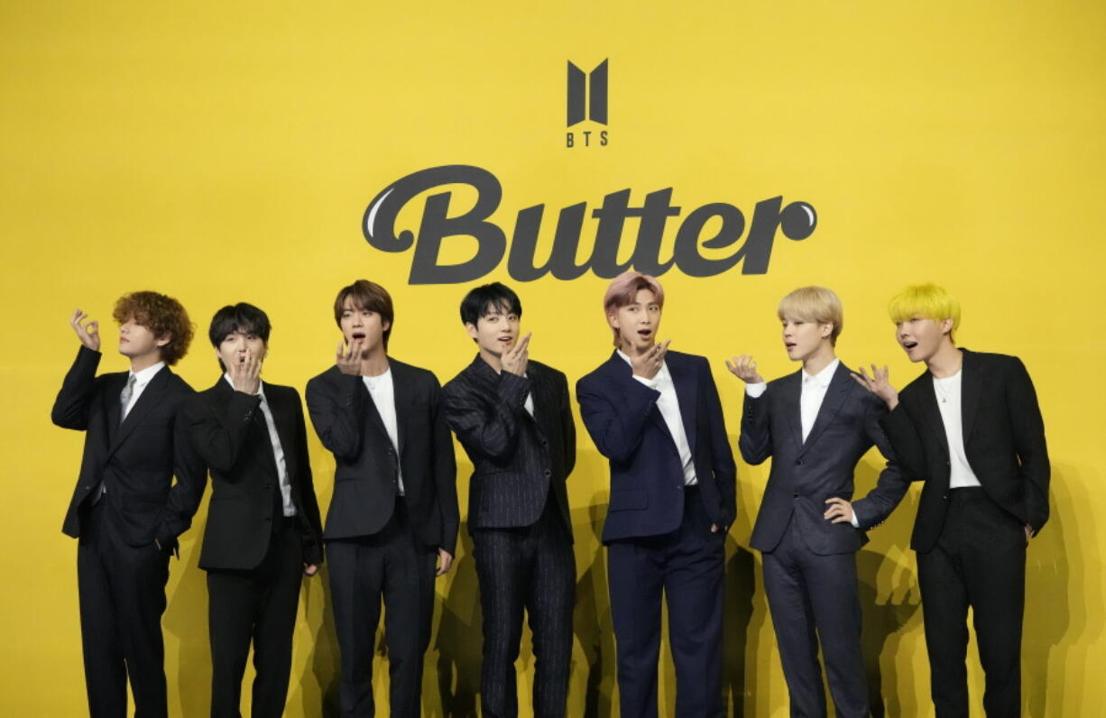 K pop band BTS is cooking with 'Butter'   The Columbian