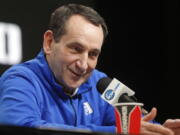 Duke head coach Mike Krzyzewski will coach his final season with the Blue Devils in 2021-22, a person familiar with the situation said Wednesday, June 2, 2021. The person said former Duke player and associate head coach Jon Scheyer would then take over as Krzyzewski's successor for the 2022-23 season.