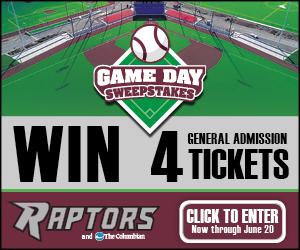 Ridgefield Raptors Giveaway contest promotional image
