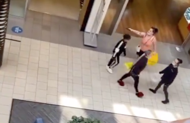 Video of a woman pulling a gun during an altercation at Vancouver Mall went viral over the weekend.