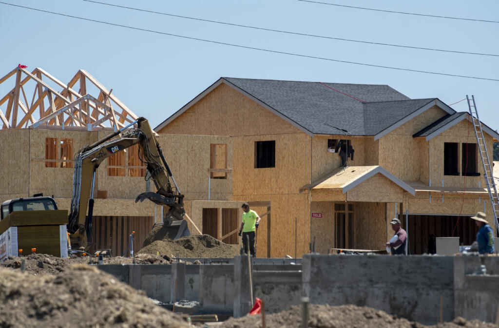The construction industry saw gains in employment in June in Clark County.