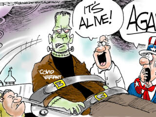 Editorial cartoons for week of July 25