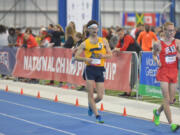 Dan Nehnevaj quickly became a successful racewalker at West Virginia Tech, winning an NAIA national title within two years of first trying the sport.