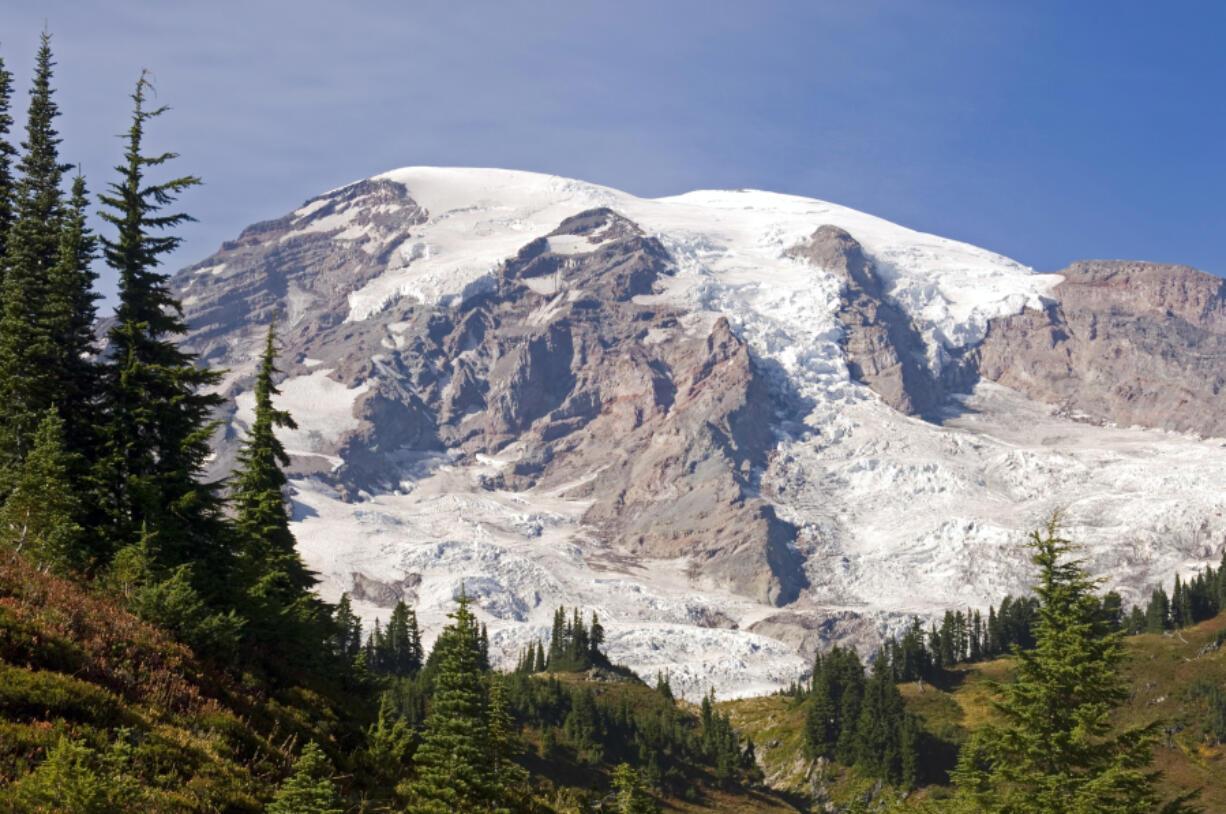 Paradise Peak, in Mount Rainier National Park.