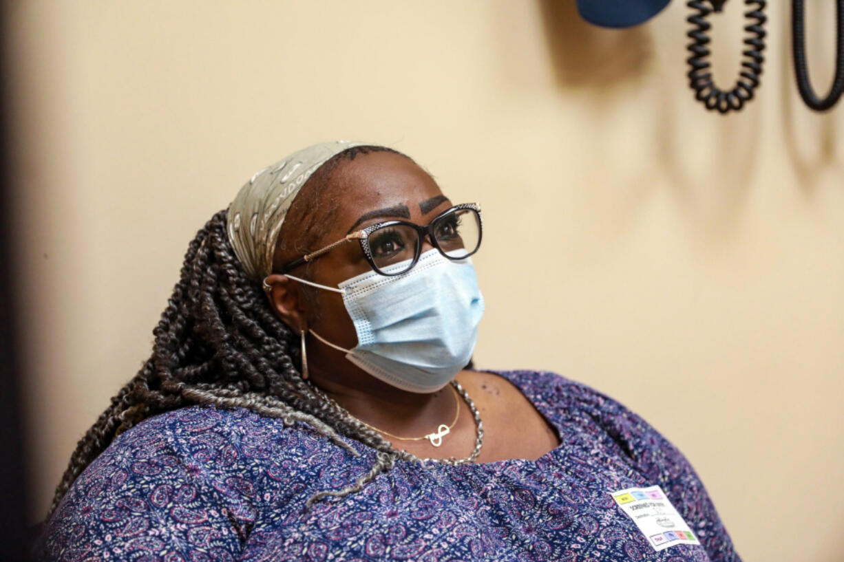 Miriam Dinkins, 60, of Lincoln Park is a patient of Dr.