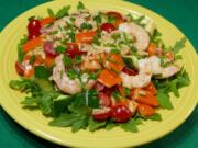 Summer Shrimp Pasta Salad (Linda Gassenheimer/TNS)