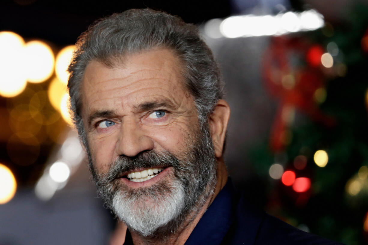 """Actor Mel Gibson arrives at the U.K. premiere of """"Daddy's Home 2"""" at Vue West End on Nov. 16, 2017, in London."""