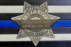 Aftermath of fatal shooting of Clark County detective news photo gallery
