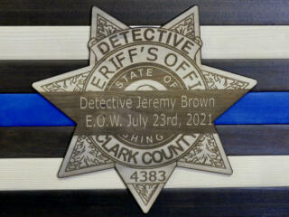 Aftermath of fatal shooting of Clark County detective