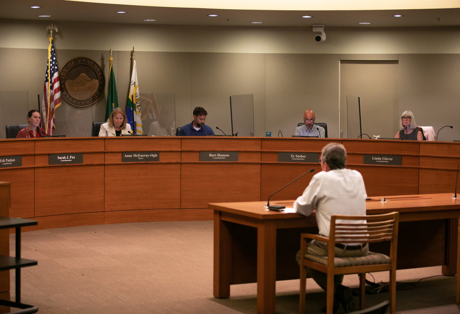 In July, the Vancouver City Council held its first in person meeting since going virtual after the pandemic shutdowns in March 2020.