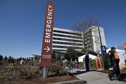 The PeaceHeath Southwest Medical Center emergency room.