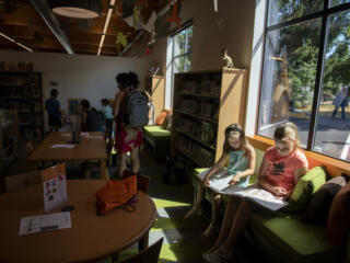 Grand opening of Ridgefield Community Library