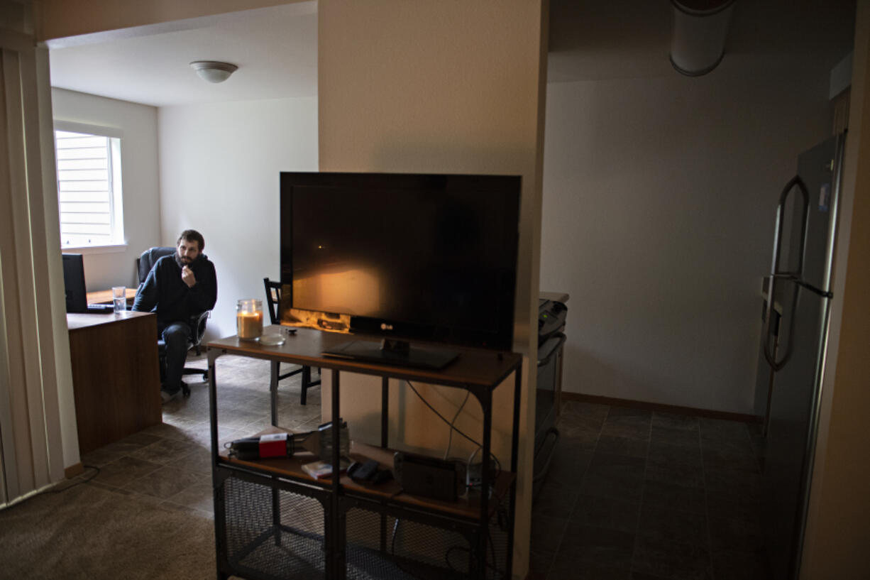 Joel Moon is one of tens of thousands of people in Clark County dealing with the increasing apartment rental rates, which have nearly doubled in the past 10 years.