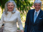 OLD EVERGREEN HIGHWAY: Carolyn and Don Bonker celebrated their 50th wedding anniversary on July 10 at Jane Weber Evergreen Arboretum, where they were married in 1971.