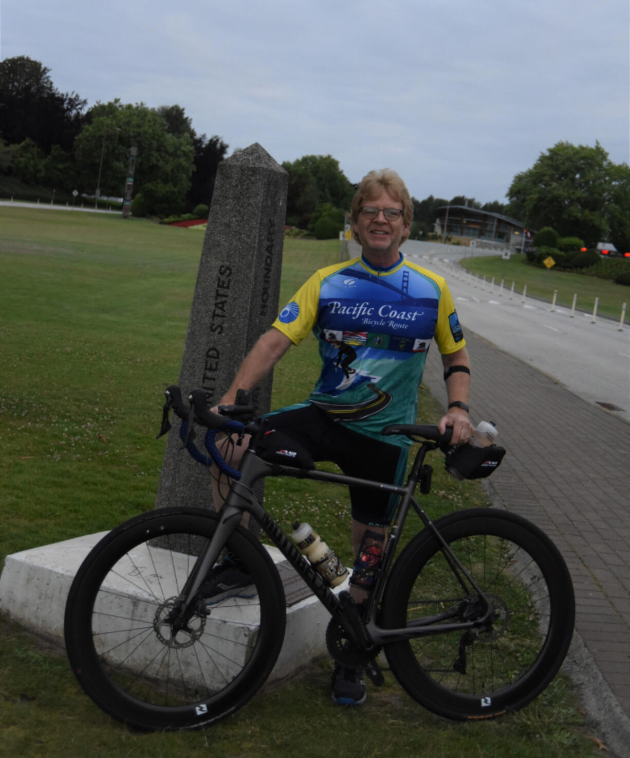 CLARK COUNTY: Vancouver resident and Rotarian Terry Toland set off on a 1,300 bike ride called the Border to Bay Benefit Ride to raise awareness and money for Martha's Pantry.