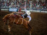 """""""Hell on Hooves"""" Rough Stock Rodeo comes to the Clark County Event Center Aug. 7 as part of the Family Fun Series filling in for the canceled Clark County Fair."""