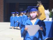 RIDGEFIELD: Preschooler Kyli Petrie graduated from Ridgefield's Early Learning Center.