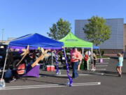VAN MALL: Relay for Life of Clark County volunteers held a Parking in the Parking Lot Tailgate event at Vancouver Mall on July 17 to help raise funds for cancer research and patient services.