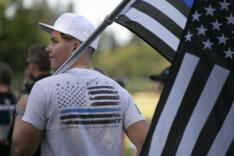 Memorial Mile for Detective Sgt. Jeremy Brown news photo gallery